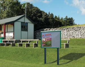 Community Centre Outdoor Notice Boards