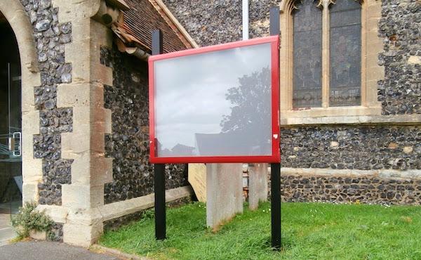 Outdoor Notice Board