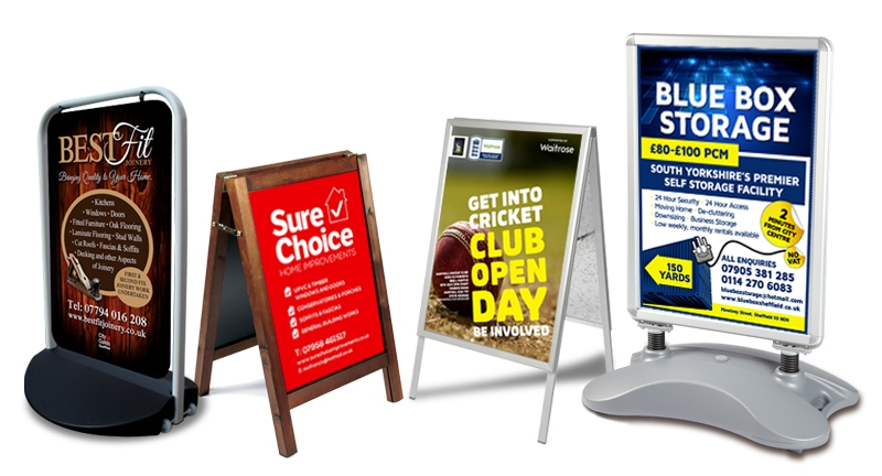 Sign Boards Business Pavement Signs