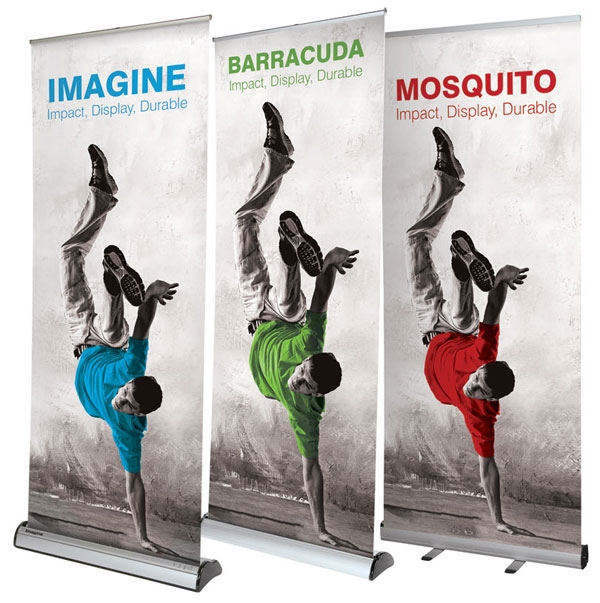 Red17 Roller Banner Stands