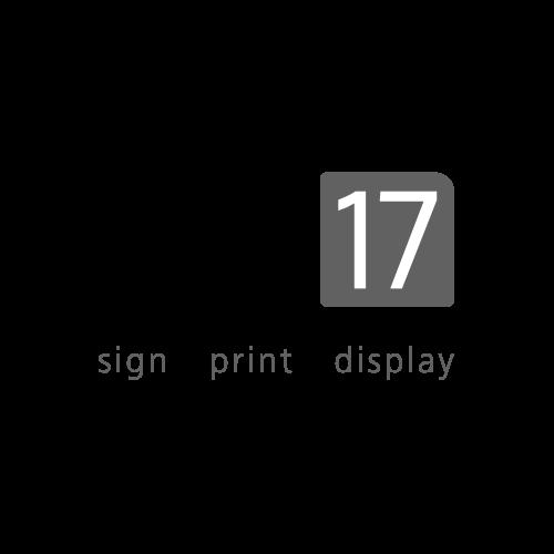 Illuminated Black Information Stands