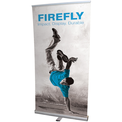 Firefly Roller Banner Stand Display