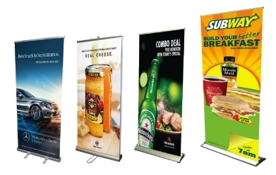 roller banners examples