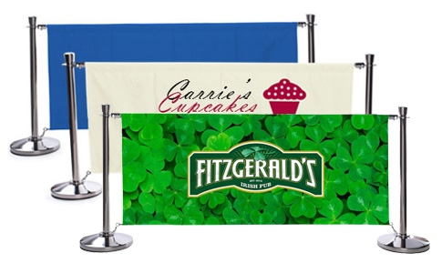 cafe barrier design examples