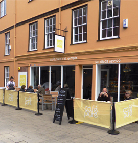 Cafe Barriers example 3