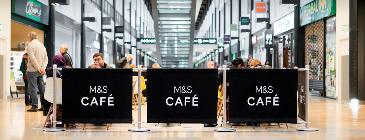 Maintain Social Distancing with Café Barriers