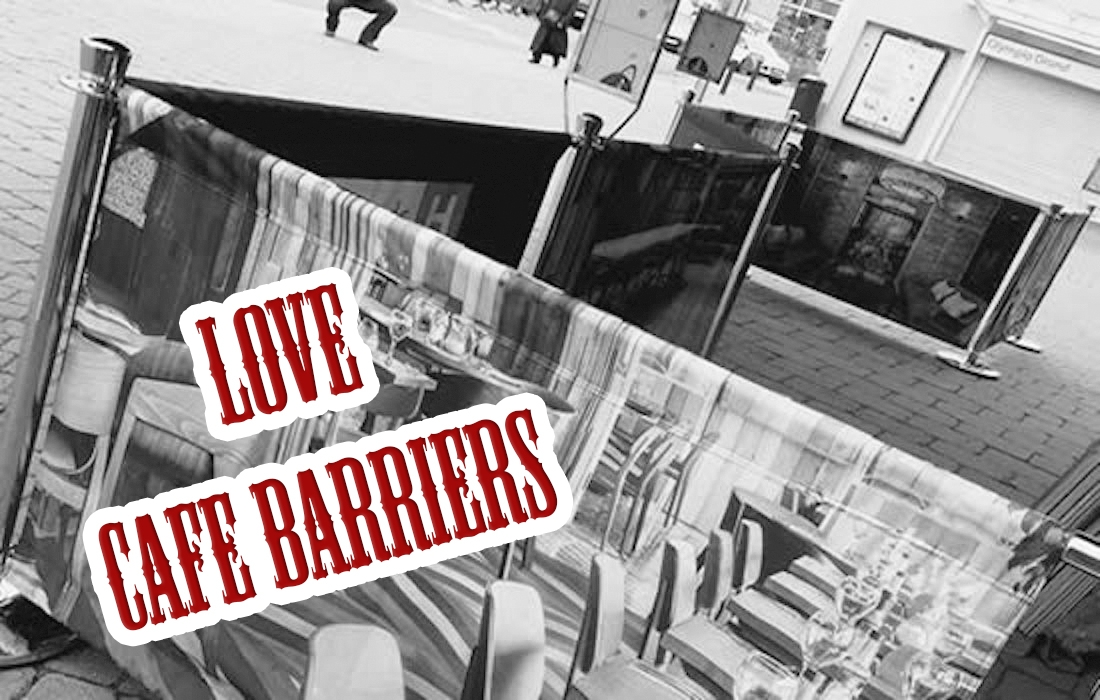 Love cafe barriers