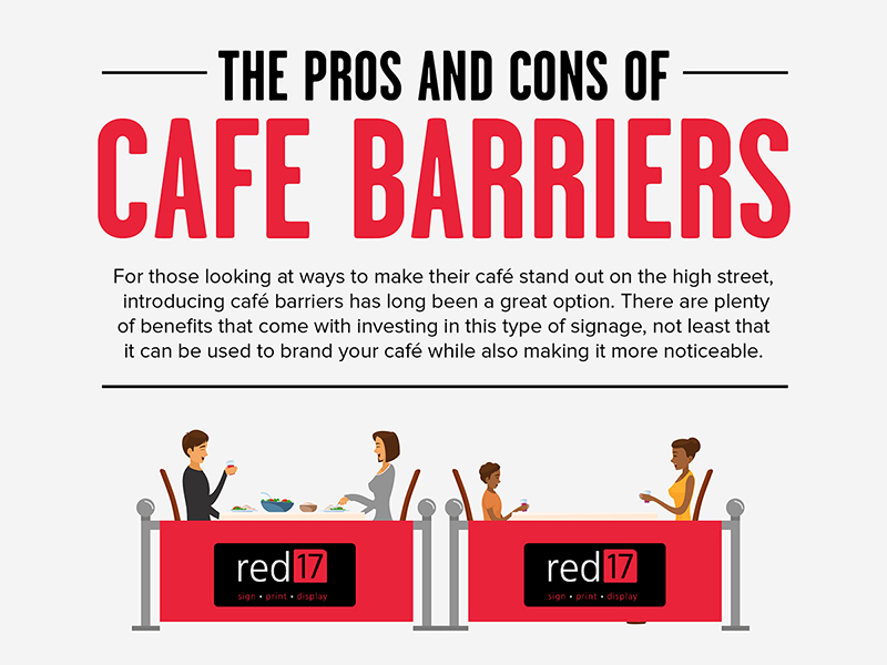 The Pros and Cons of Cafe Barriers - Infographic