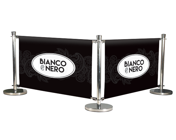 Restaurant Banner Barriers