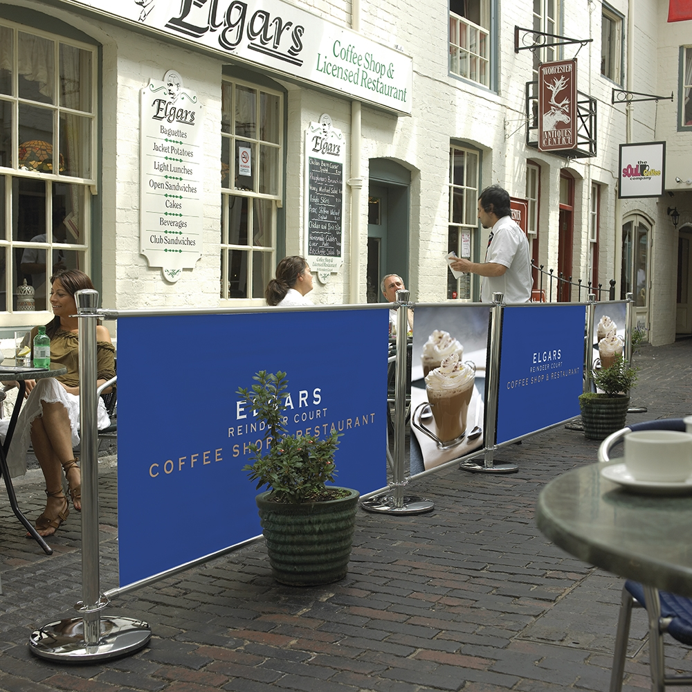 Cafe Barriers for cafes and bars