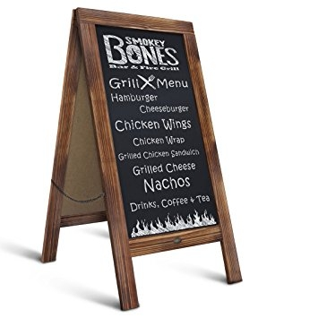 Chalkboard Signs example