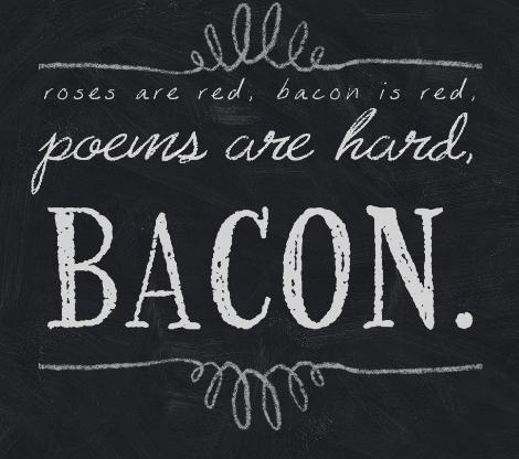 Poems are hard - chalkboard signs pic