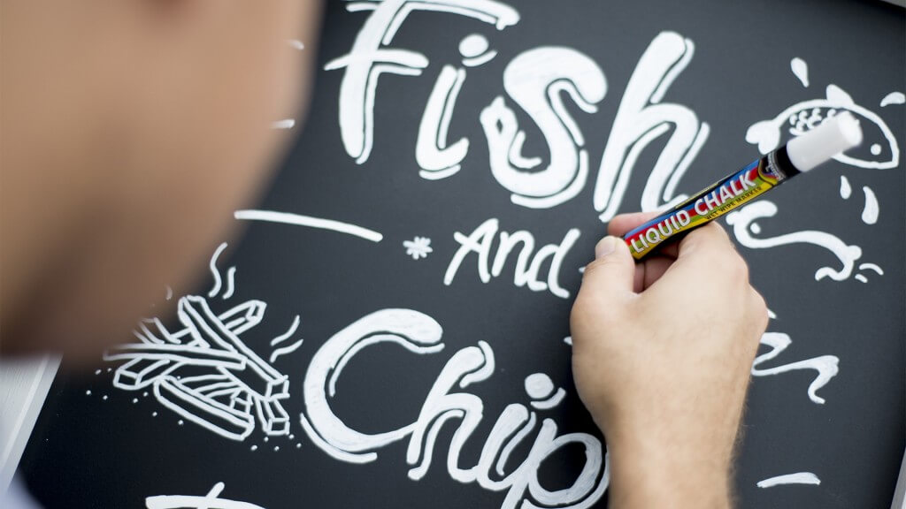 Are Chalkboards Making a Comeback