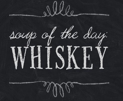 Whiskey - chalkboard signs pic