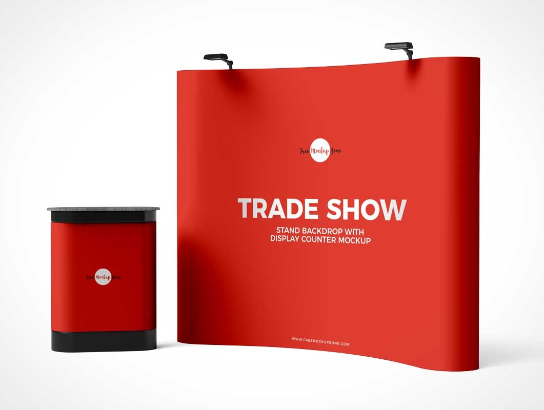 Trade Show Pop-Up Display Stand - example Pop-Up Stand Display