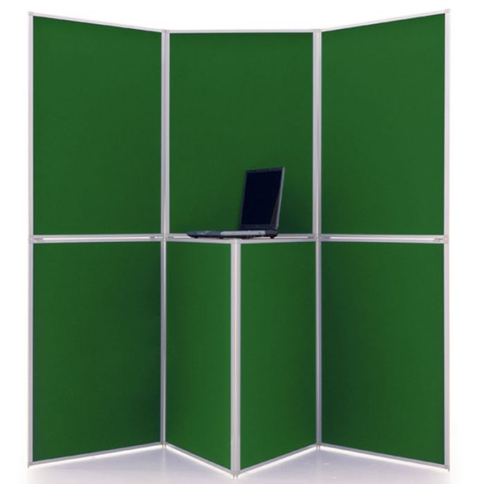 7 Panel display boards - stand example