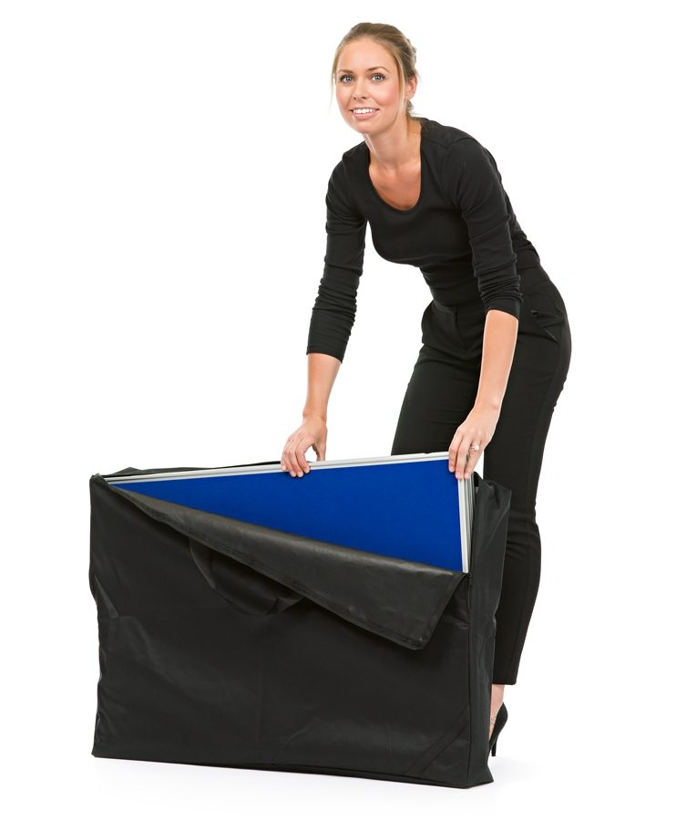 Folding Display Boards Fold and Fit Into Carry Bag and Car Boot easily