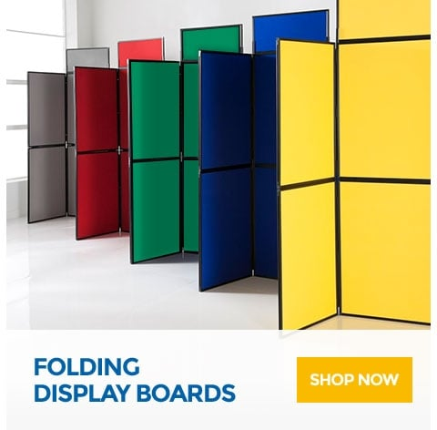 Shop Now for Folding Display Boards