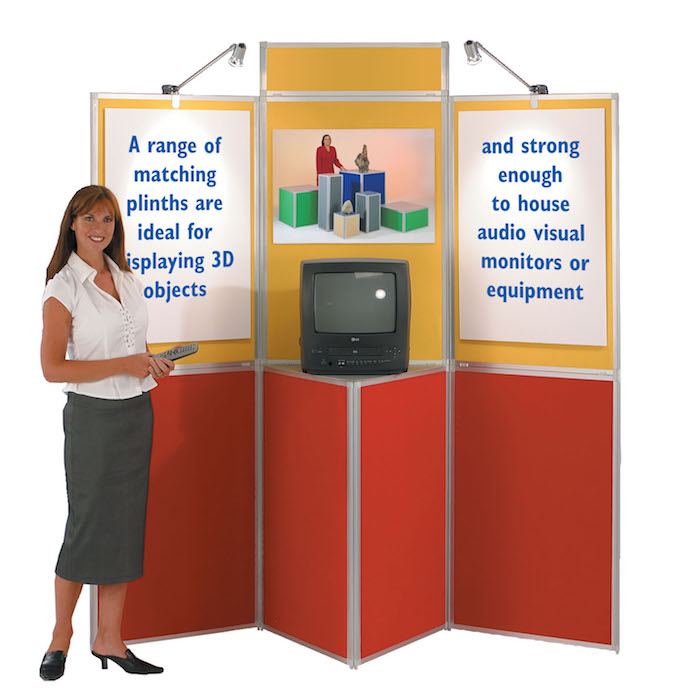 Heavy Duty Panel Display Boards - stand