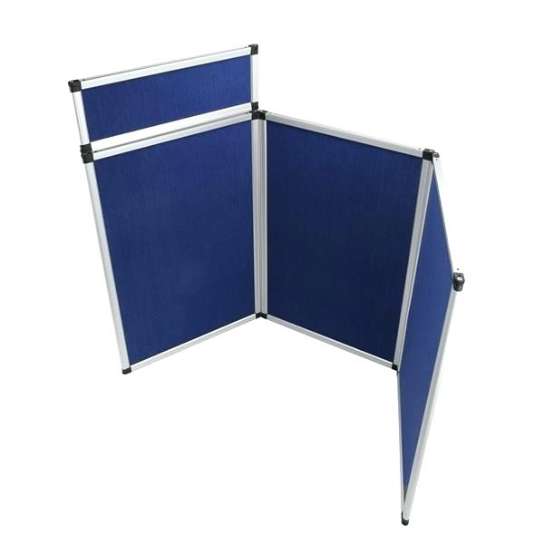 Example trade show table display stand
