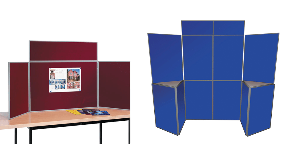 Folding Display Boards for Trade Shows and Craft Fairs