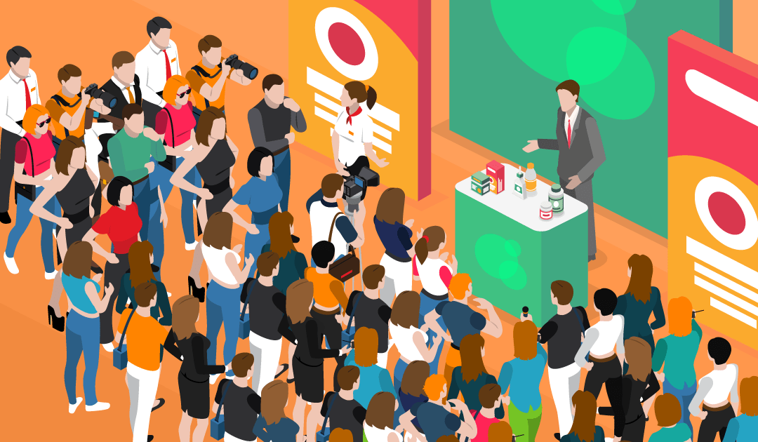 Trade Show Tips Illustration Infographic
