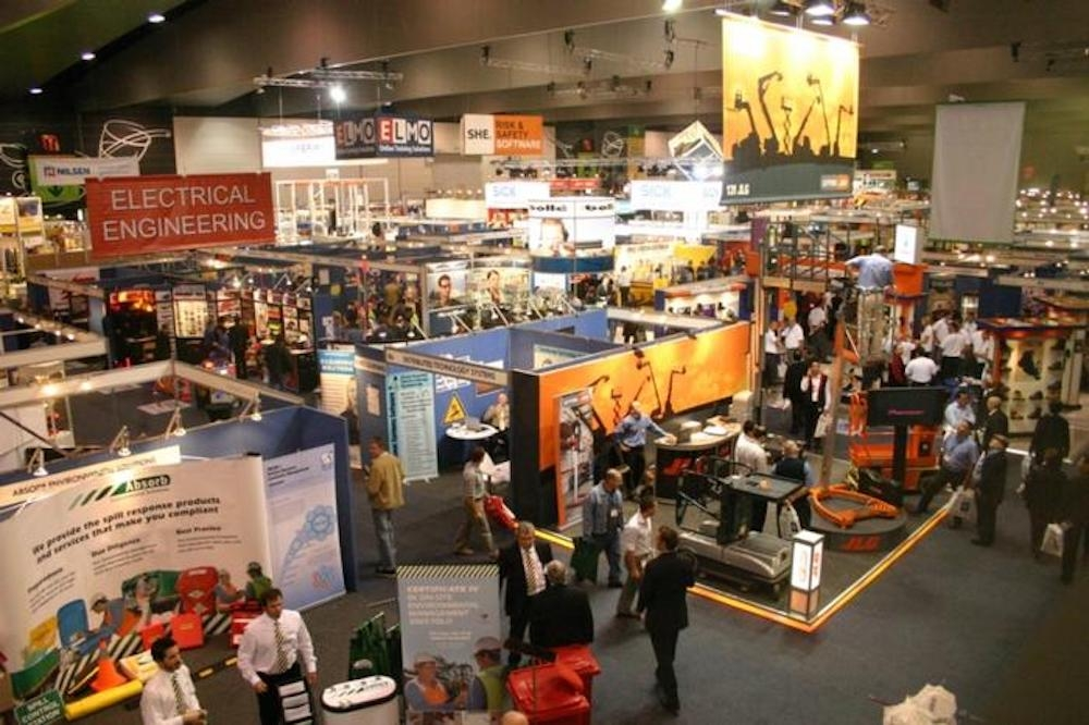tradeshow hall