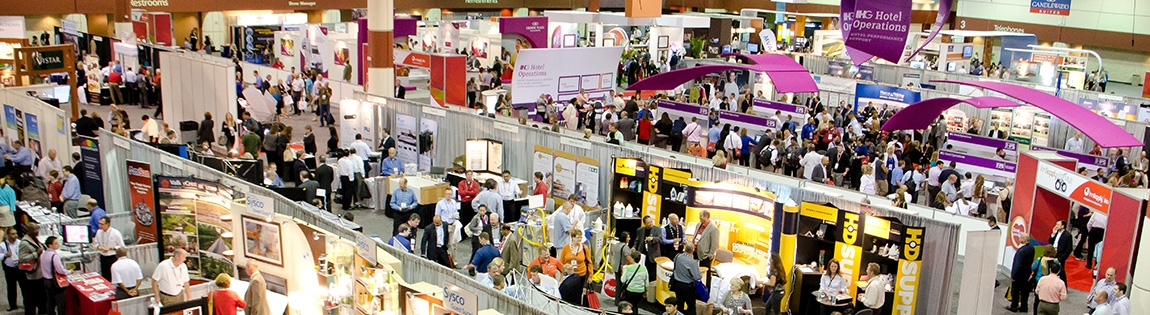 Trade Show Hall banner pic