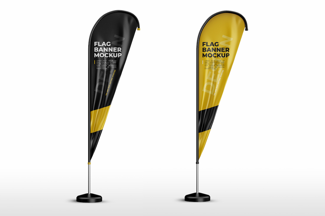 The Advantages of Advertising with Portable Flag Poles