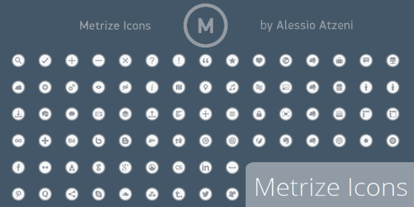 Metrize Icons