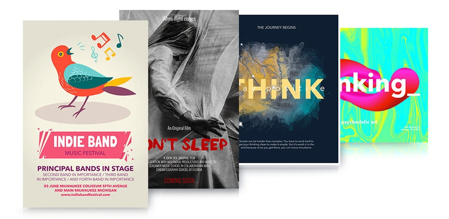 designed posters examples