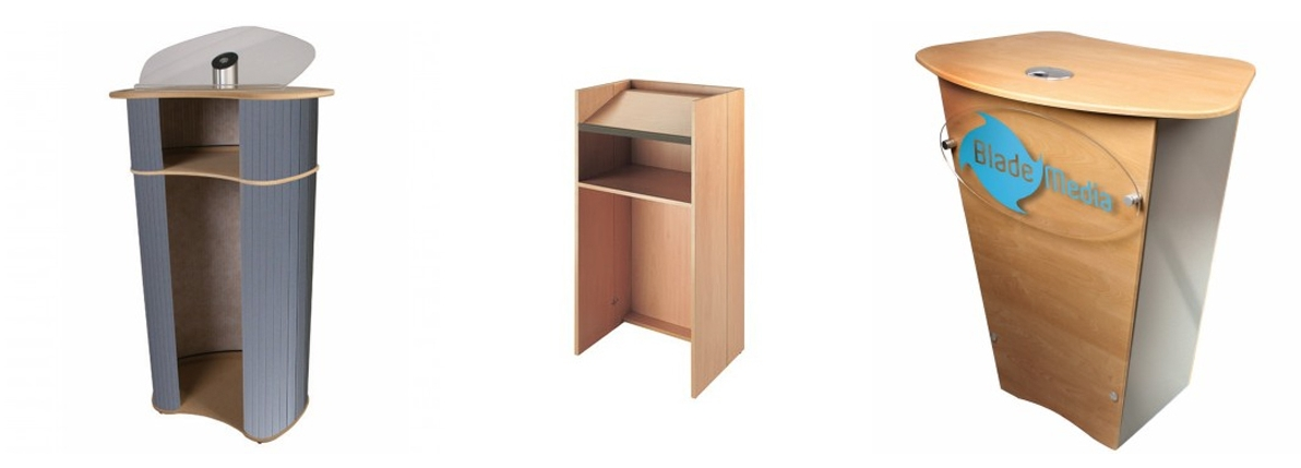 Examples of Lecterns available to buy at Red17