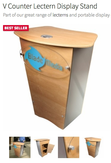 V-Counter Lectern