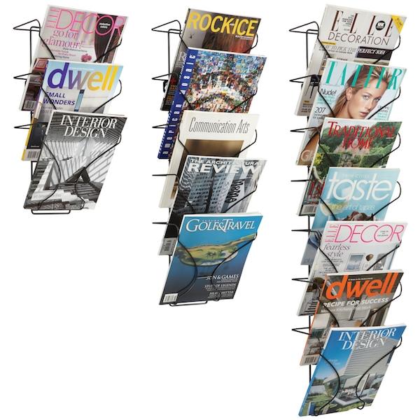 Wire Wall Mounted Brochure Racks