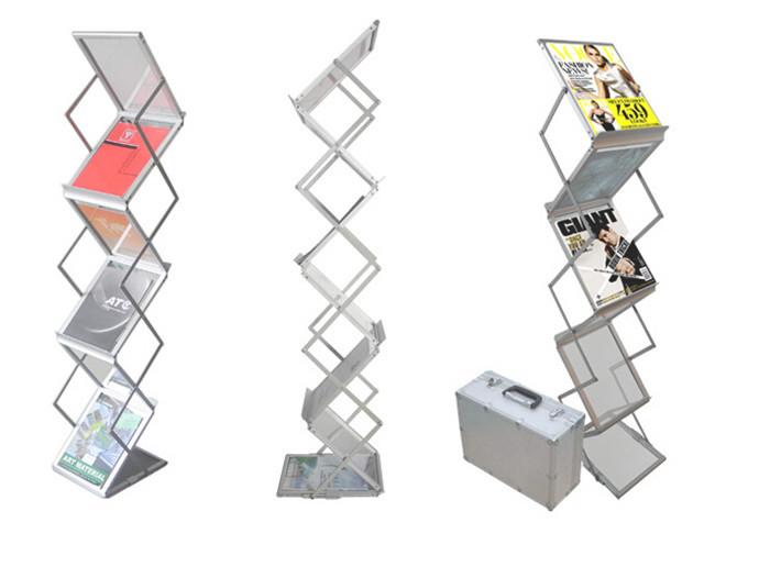 Freestanding Literature Stands