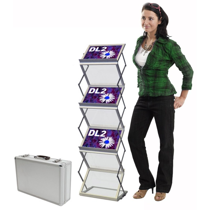 Display Stand Rack for Literature