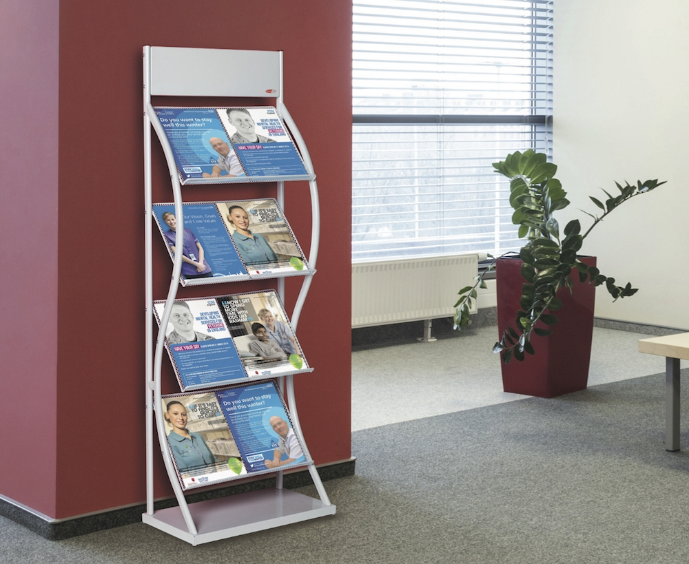 Brochure Stand Display in Reception