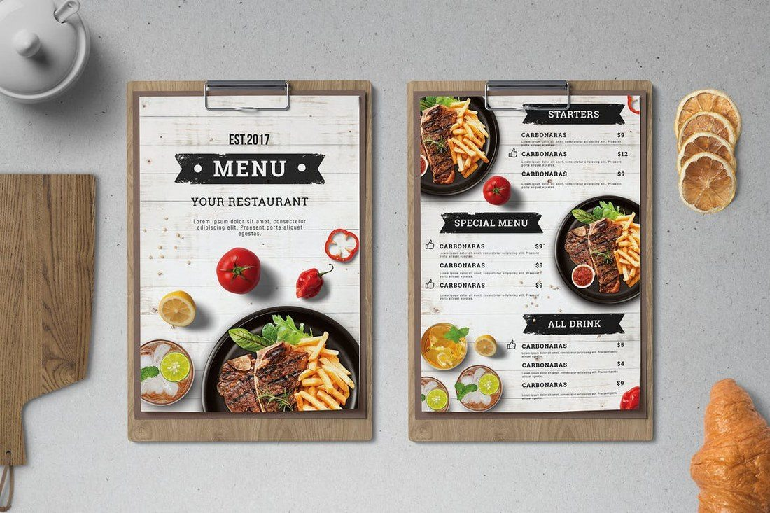 How to Design a Menu that Grabs Attention