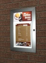 Illuminated Menu Case