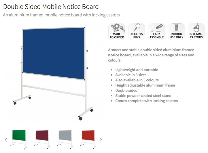 School Mobile Notice Boards