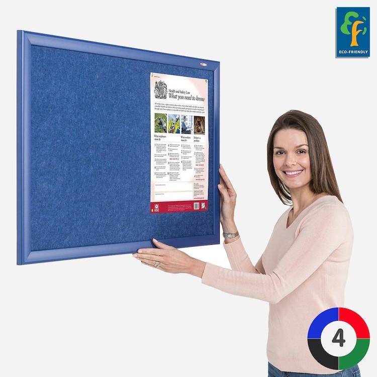 Eco-Colour Contrast Notice Boards