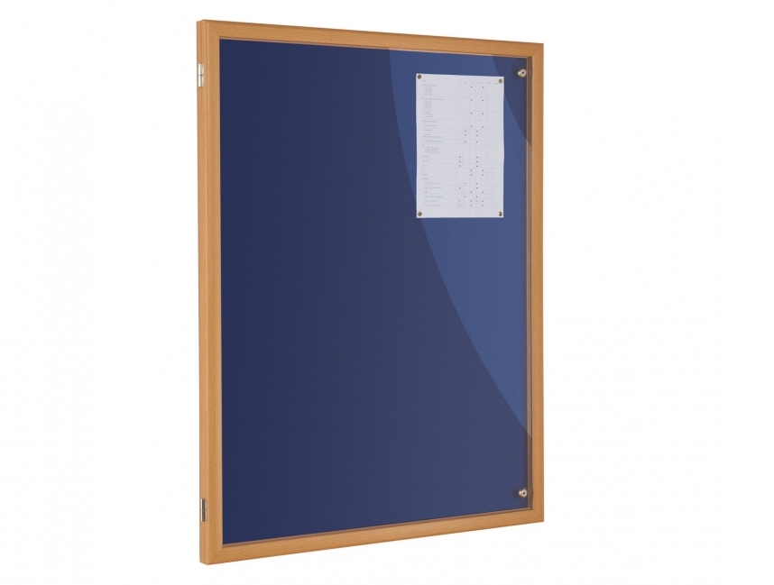 Eco-Lockable Notice Board