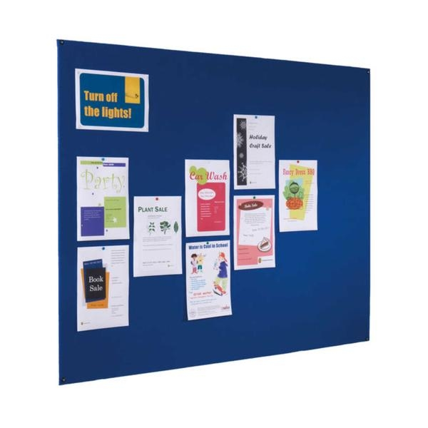 Frameless notice board