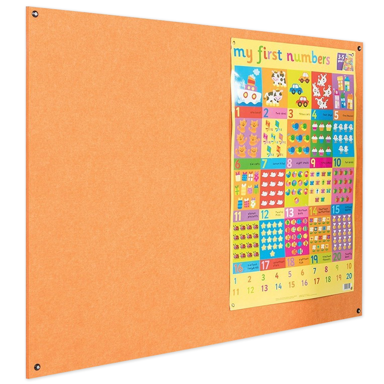 Frameless Eco-Colour® Notice Board