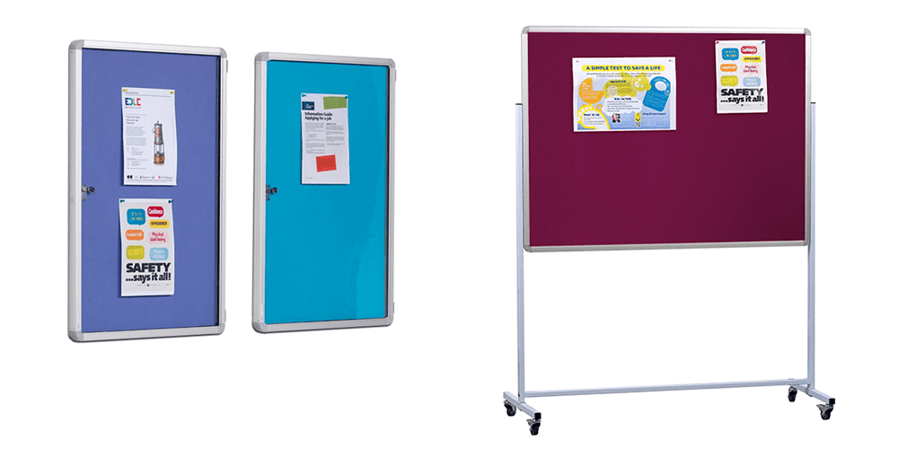 Office and Mobile Notice Boards