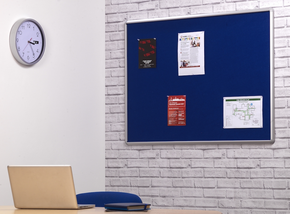 Wall Mounted Office Notice Board