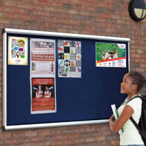 Types of School Notice Boards for External Use