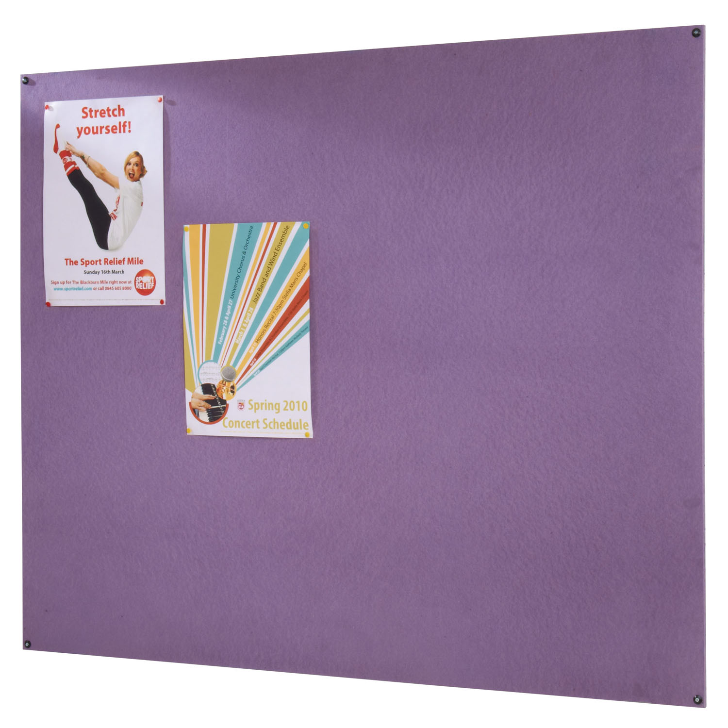 Colourful Frameless Notice Boards