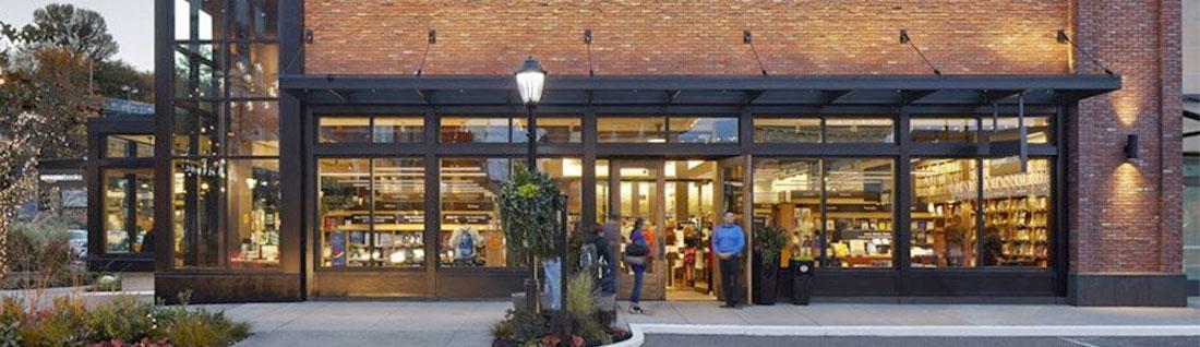 Large Retail Shop Front