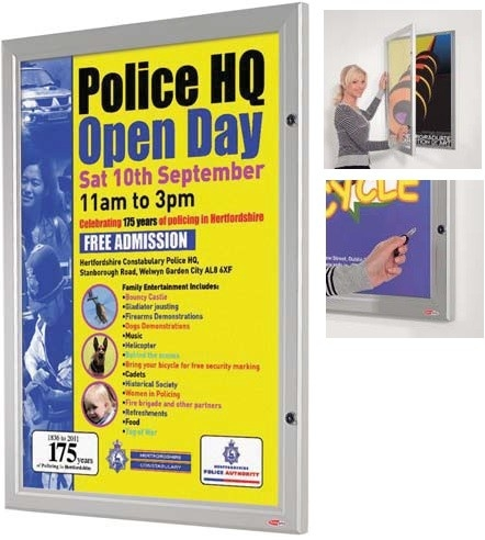 Police HQ Open Day Poster